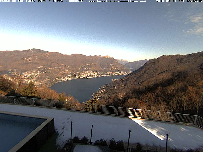 Brunate webcam - Brunate webcam, Lombardy, Como